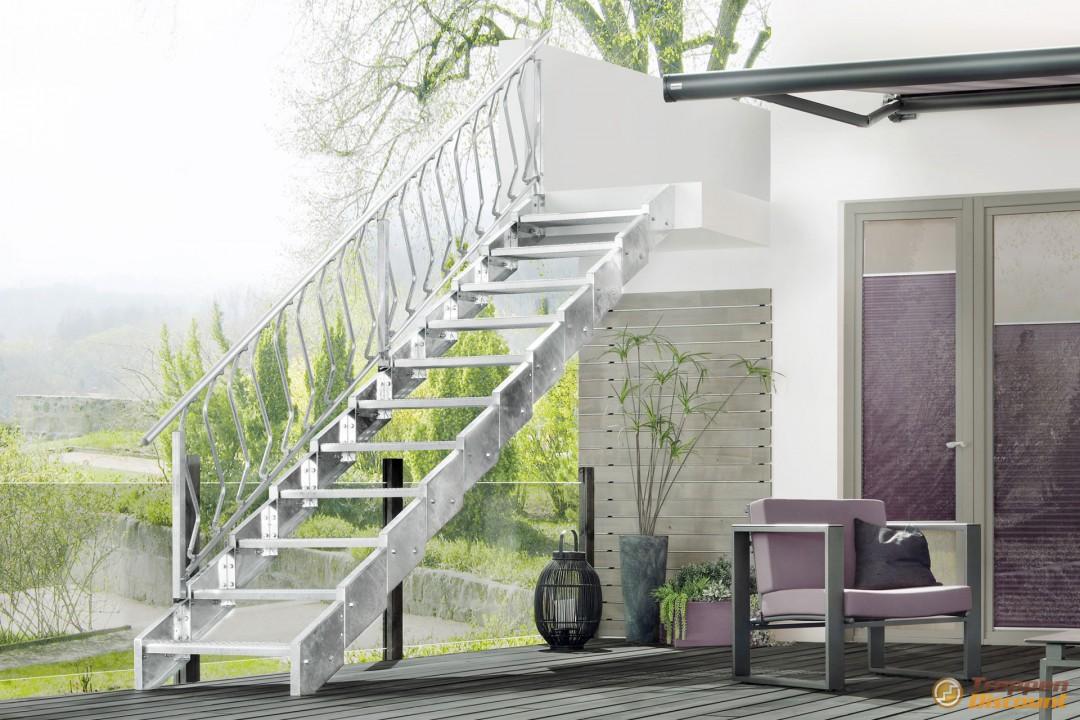 auentreppen bausatz fabulous stahlpodest x cm platz mit gelnder with auentreppen bausatz best. Black Bedroom Furniture Sets. Home Design Ideas